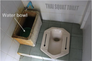 Thai Squat Toilet - Teaching Abroad in Thailand