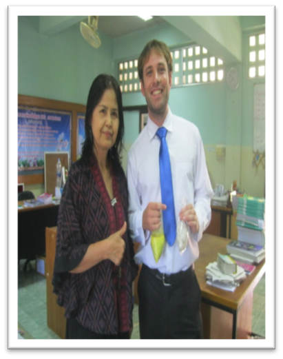Teacher in Thailand – Justin Ruhe