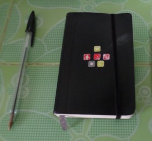 Keep a record of all your experiences in a handy journal