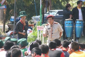 Scout camp - a perfect time to get to know your students and colleagues