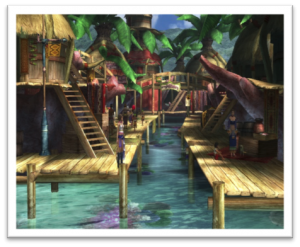 FFX - Looks a bit like the south of Thailand eh?