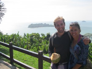 With Krissy in Koh Chang