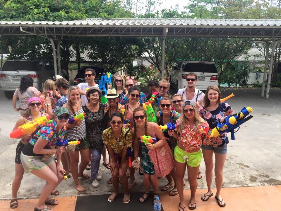 Sawadee Pee Mai- Experience Songkran