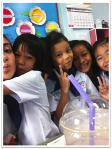 The best thing about teaching ESL in Thailand? The students.