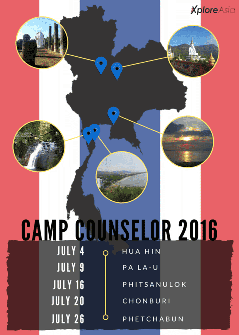 XploreAsia Camp Counselor Thailand Program