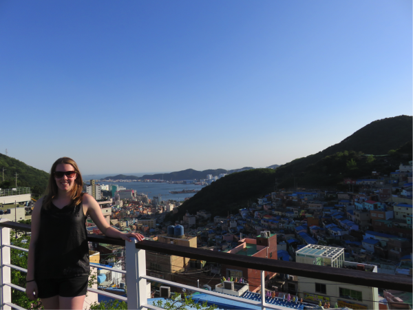 Erin's decision to teach in South Korea has made her develop her character as well as her teaching skills.