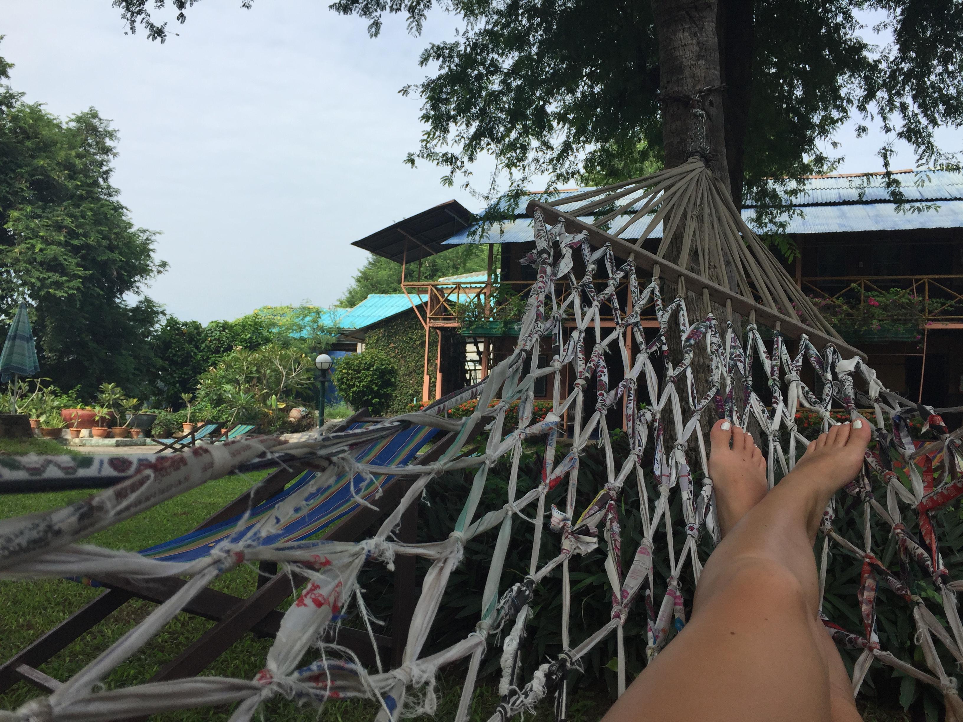 hammock, relax, Thailand, teach abroad, relax, XploreAsia
