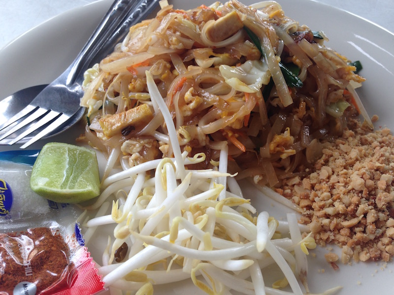Phad Thai, Vegetarian Food in Thailand