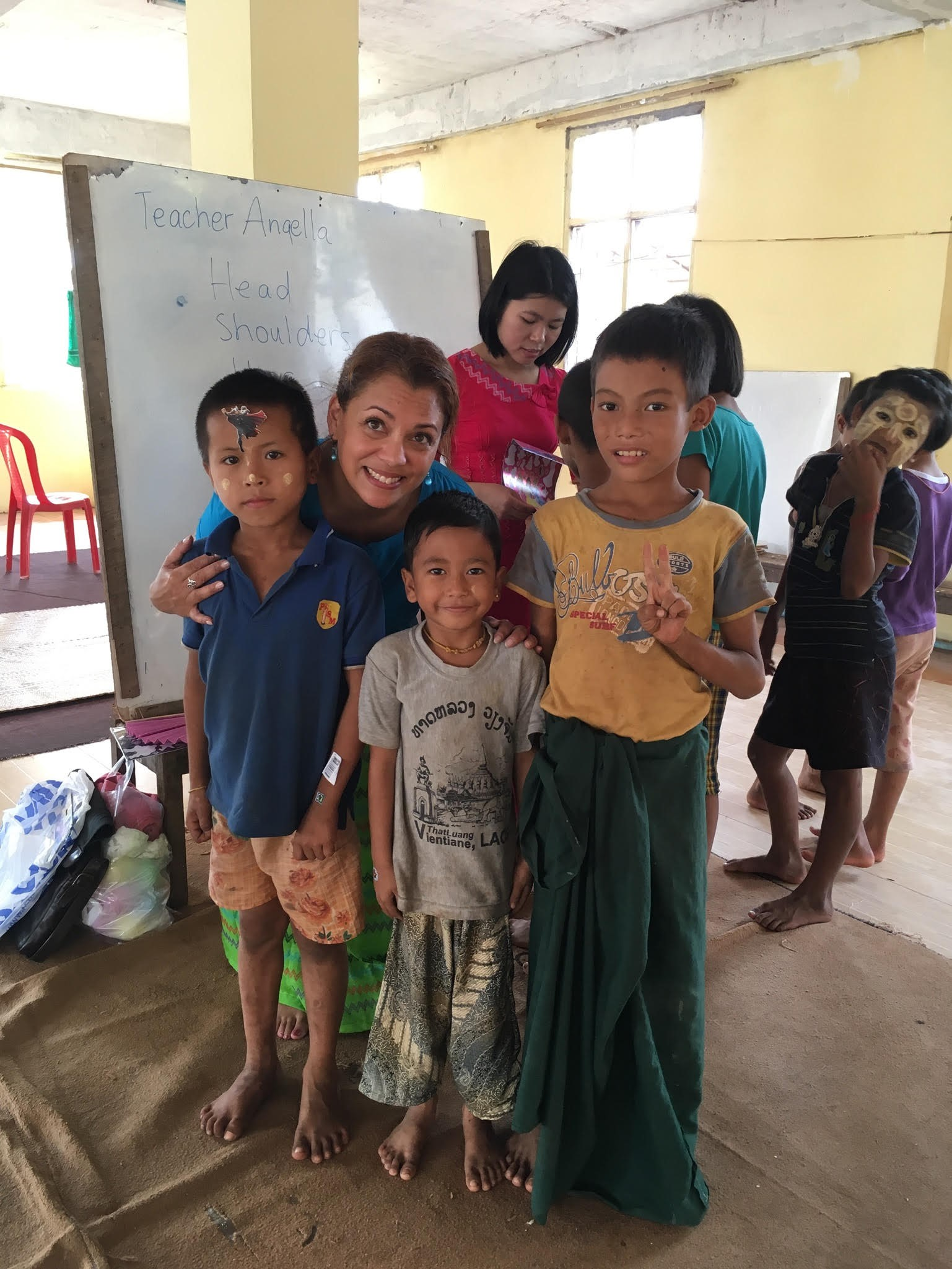 Volunteer in Myanmar
