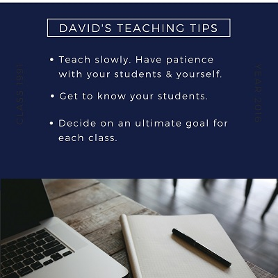David's Teaching Tips