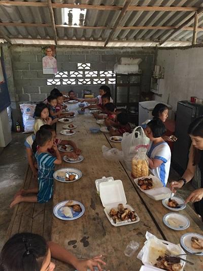 Mealtime Pala-U Orphanage