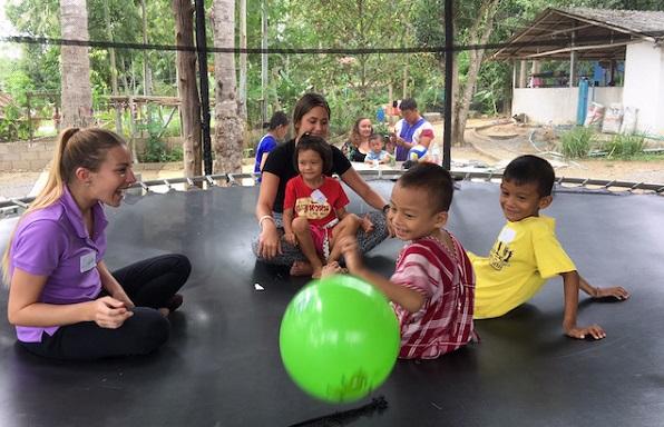 Playing Pala-U Orphanage