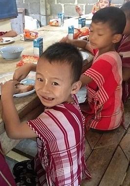 Meal Pala-U Orphanage