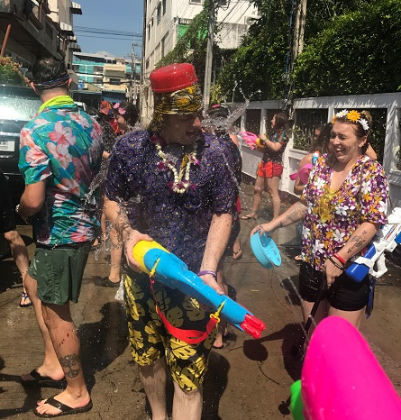 XA Songkran Party