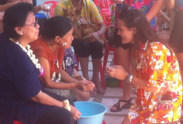 Marti Blessing Ceremony