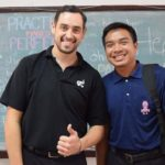 Teacher Bronson Student Thumbs Up