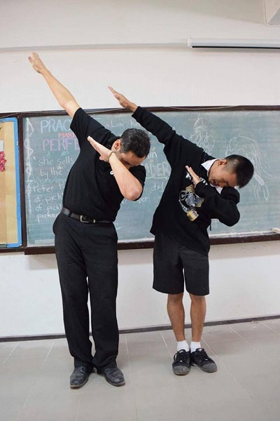 Teacher Bronson the Dab