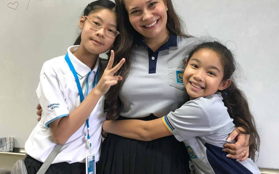 Teach In Thailand: The Spider Chronicles