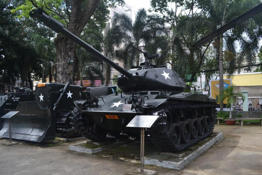 Vietnam War Museum - Tank