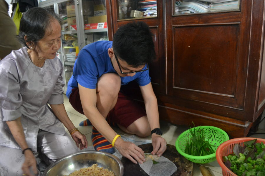 Teach in Vietnam: Cooking Lesson