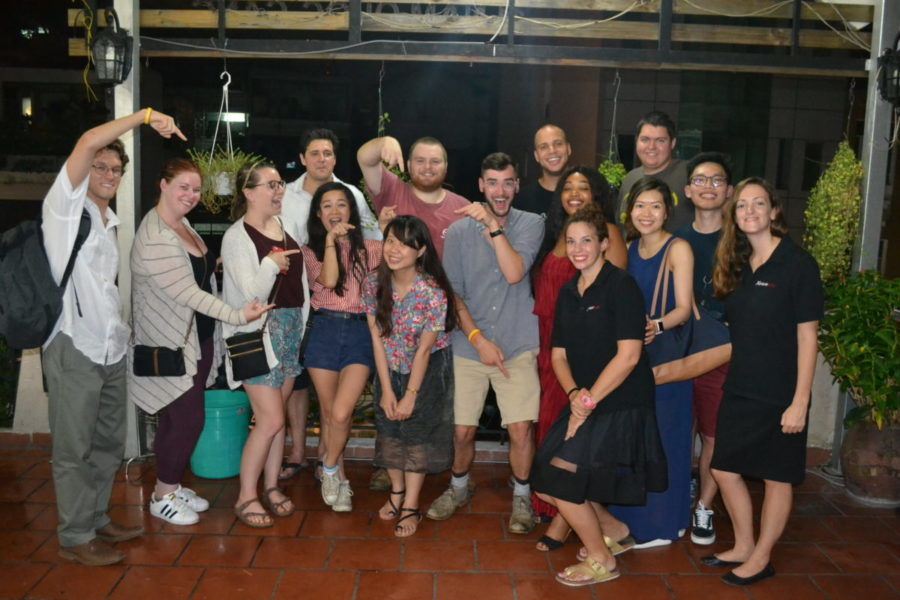 Teach in Vietnam: Group Dinner
