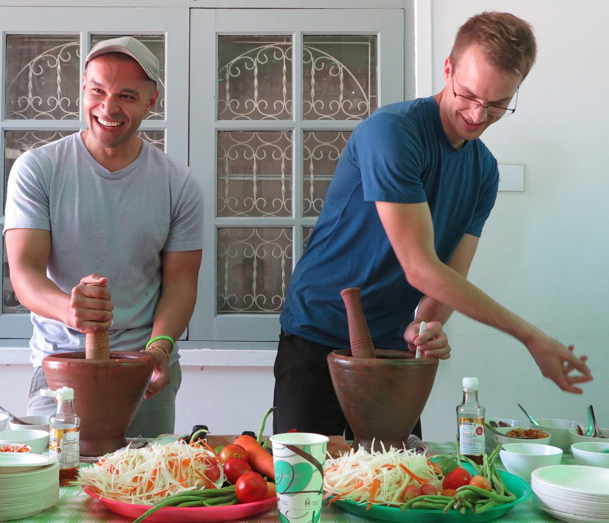 Teach in Thailand: Orientation Week Papaya Salad