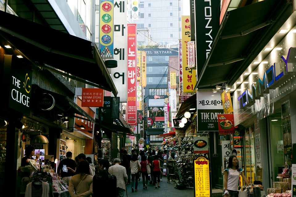 Places to go in Seoul - Namdaemun Market