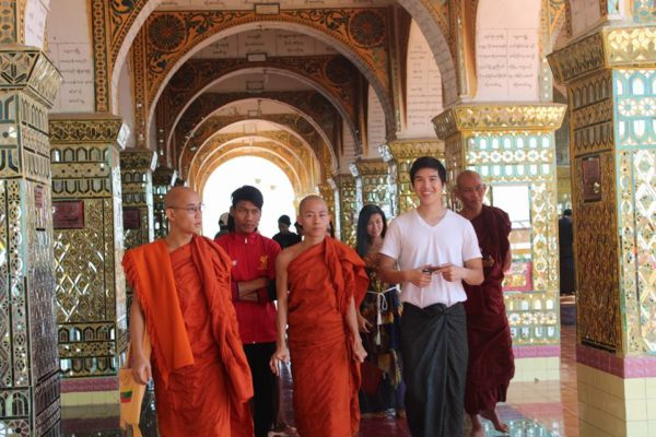 Come teach monks in Myanmar!
