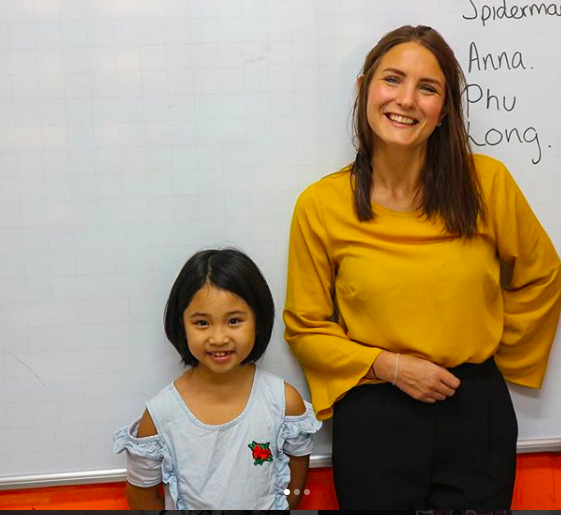 English Teacher Living in Vietnam