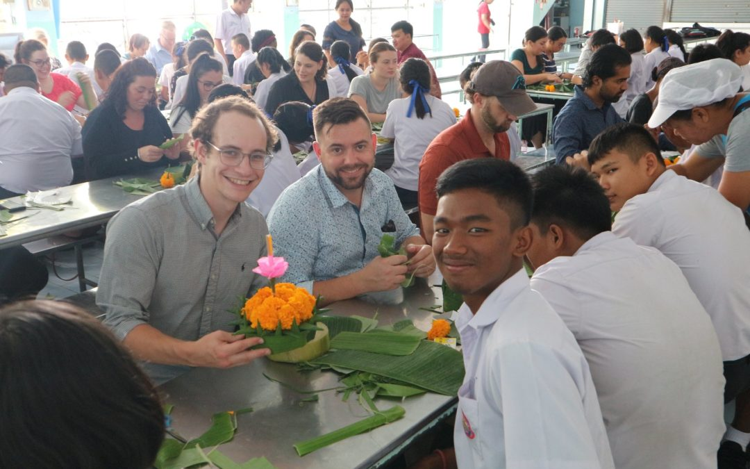 Kyle's Story: Teachers in Thailand Making Local Friendships