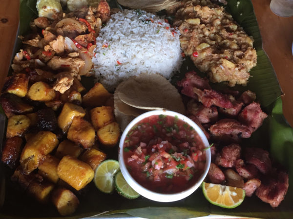 Delicious local Costa Rican food