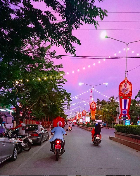 Chad met Bang during an evening in Hua Hin during studying for his TESOL course. Who will you meet when you teach in Thailand?