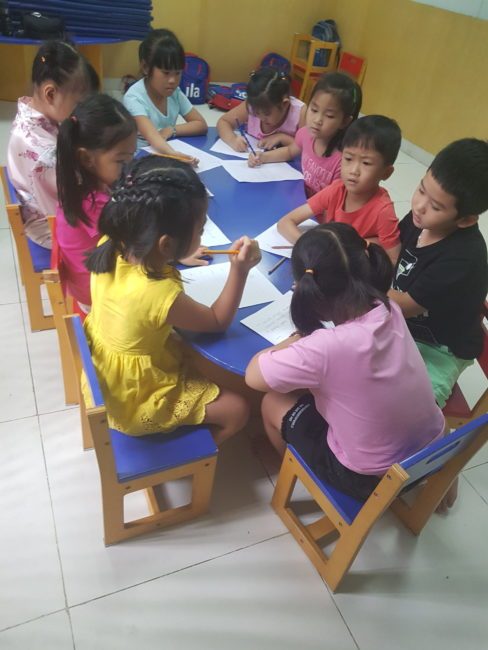 The teaching assistants can be a great source of support in the classroom and are a great perk of teaching in Vietnam.
