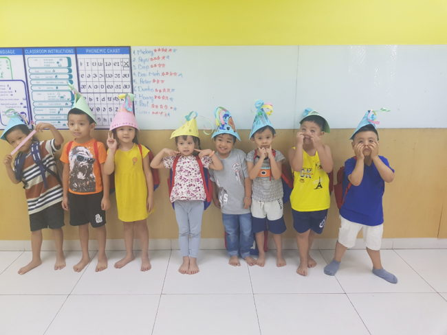 Teaching in Vietnam can involve teaching many different age groups. Eugenie found she loved teaching jumpstarts much more than she'd anticipated.