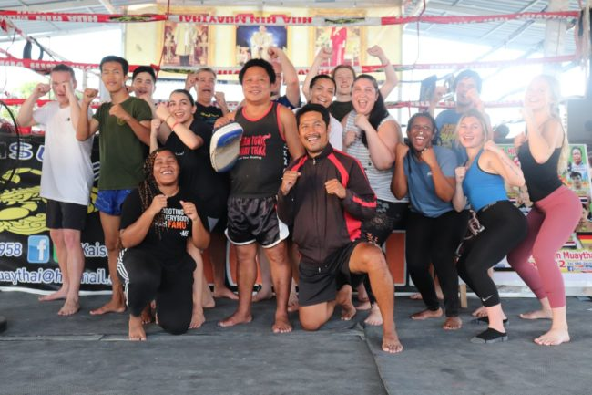 Starting an internship abroad lets you get a real feel for local culture. Ashia got a chance to experience the ancient sport Muay Thai during her time with us!