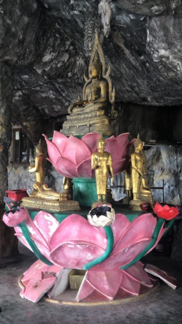 Ashia also got to learn about Buddhism during her internship abroad in Thailand.