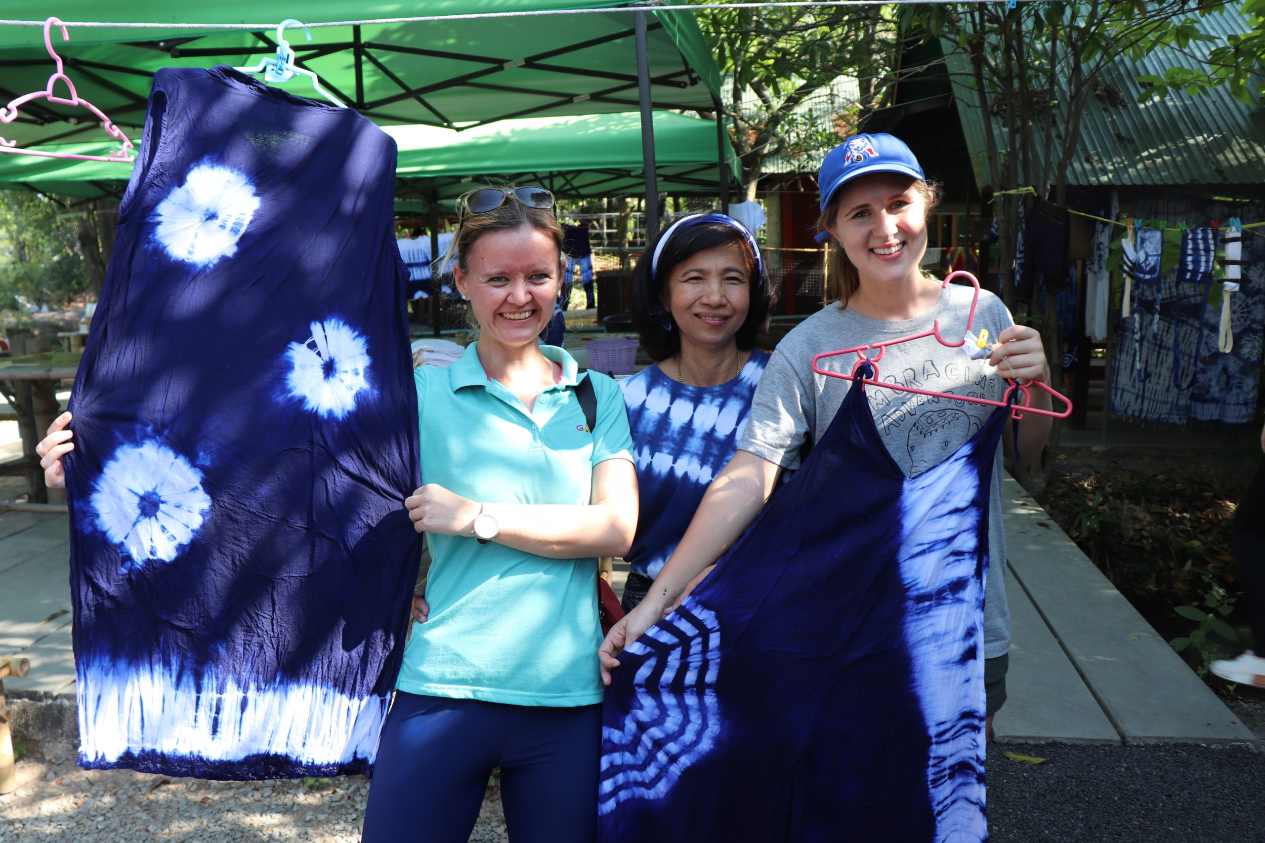 Teach in Thailand and show off your tie-dye masterpieces at the teacher meet up in Bangkok